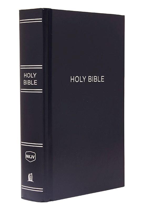 NKJV Large Print Pew Bible-Navy Hardcover | SHOPtheWORD