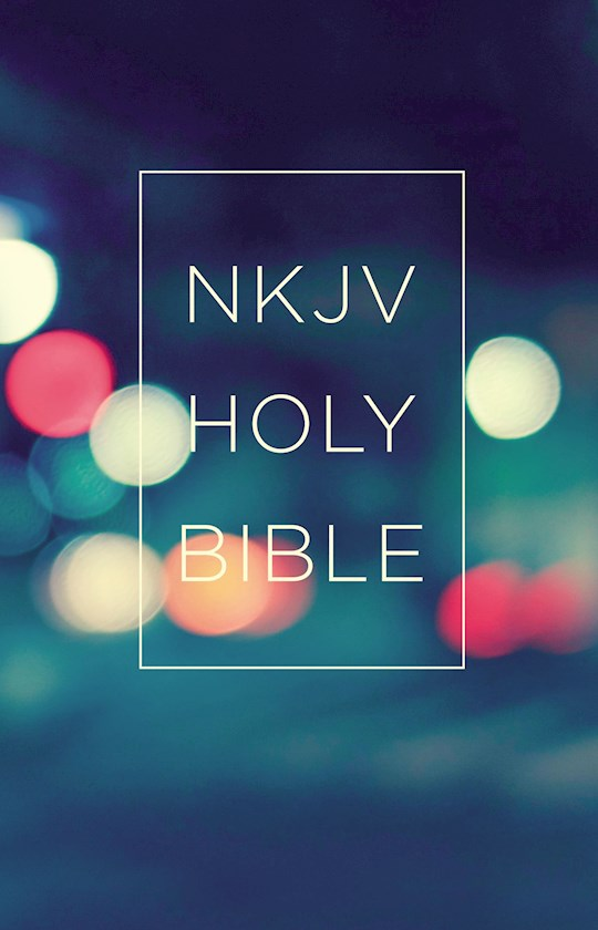 NKJV Value Outreach Bible-Urban Scenic Softcover | SHOPtheWORD