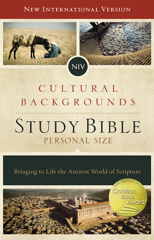 NIV Cultural Backgrounds Study Bible/Personal Size-Hardcover | SHOPtheWORD