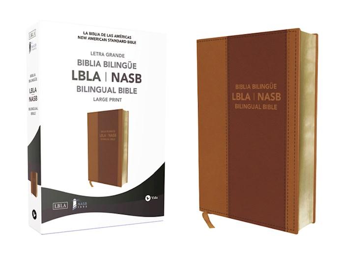 Span-LBLA/NASB Bilingual Bible-Leathersoft | SHOPtheWORD