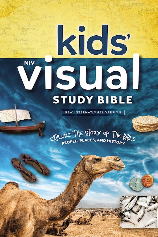 NIV Kids' Visual Study Bible (Full Color)-Hardcover | SHOPtheWORD
