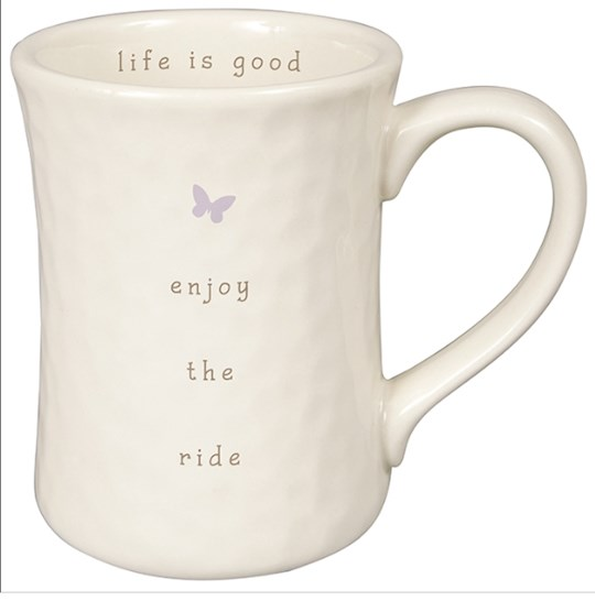 Mug-Perfect Simplicity-Enjoy The Ride (Box Of 4) | SHOPtheWORD