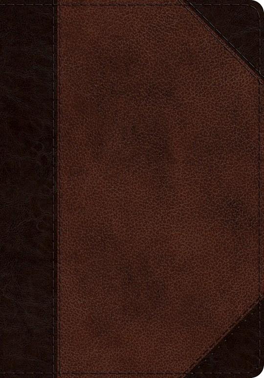 ESV Journaling Psalter-Brown/Walnut Portfolio Design TruTone | SHOPtheWORD