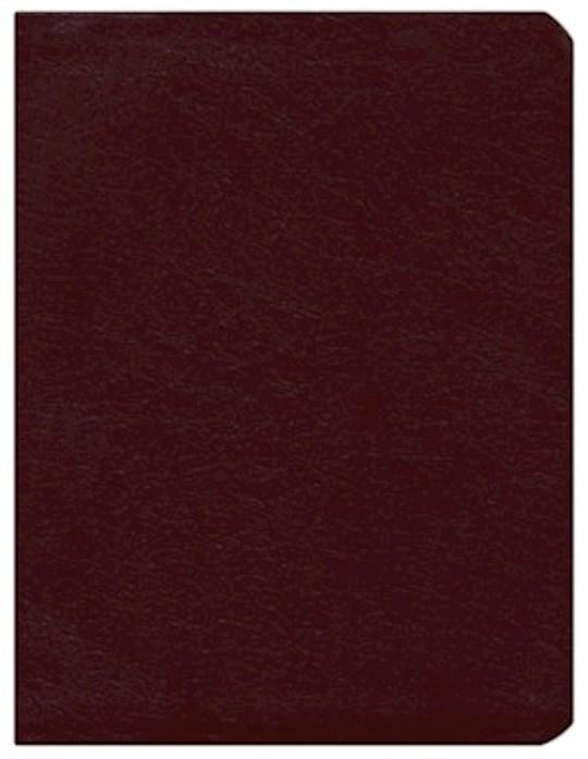 KJV Dake Annotated Reference Bible-Burgundy Bonded Leather | SHOPtheWORD