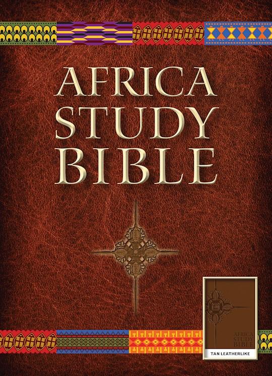 NLT Africa Study Bible-Brown LeatherLike  | SHOPtheWORD