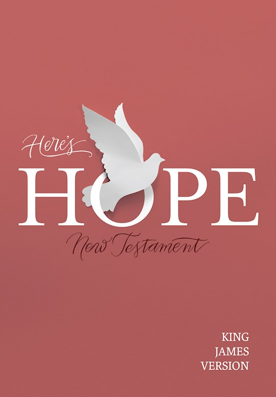 KJV Here's Hope New Testament-Softcover | SHOPtheWORD