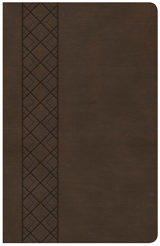 KJV Ultrathin Reference Bible (Value Edition)-Brown LeatherTouch | SHOPtheWORD