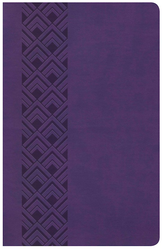 KJV Ultrathin Reference Bible (Value Edition)-Purple LeatherTouch | SHOPtheWORD