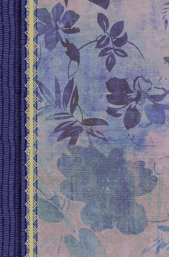 Span-RVR 1960 Study Bible For Women (Biblia de Estudio Para Mujeres)-Blue Floral LeatherTouch Indexed | SHOPtheWORD