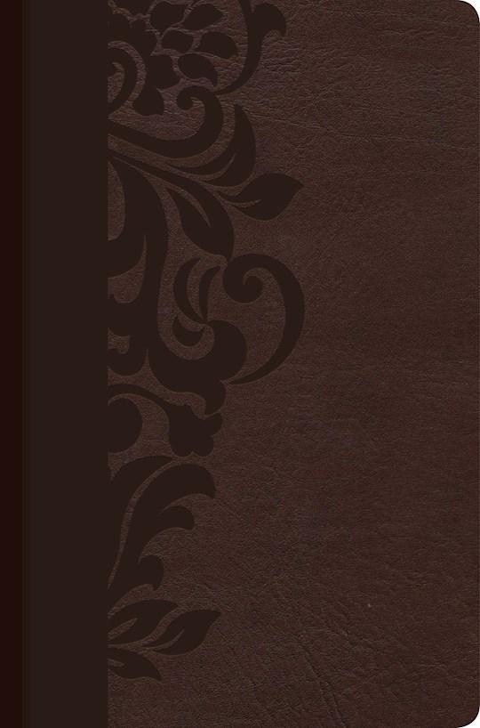 Span-RVR 1960 Study Bible For Women (Biblia de Estudio Para Mujeres)-Brown LeatherTouch | SHOPtheWORD