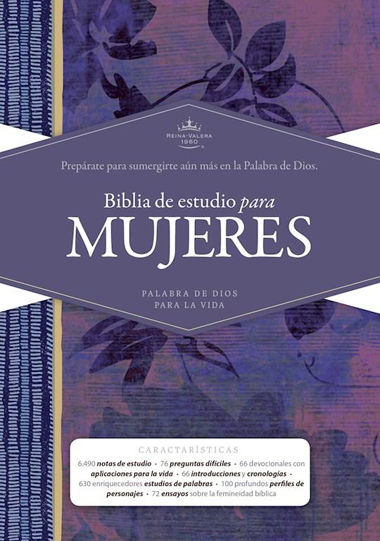 Span-RVR 1960 Study Bible For Women (Biblia de Estudio Para Mujeres)-Hardcover | SHOPtheWORD