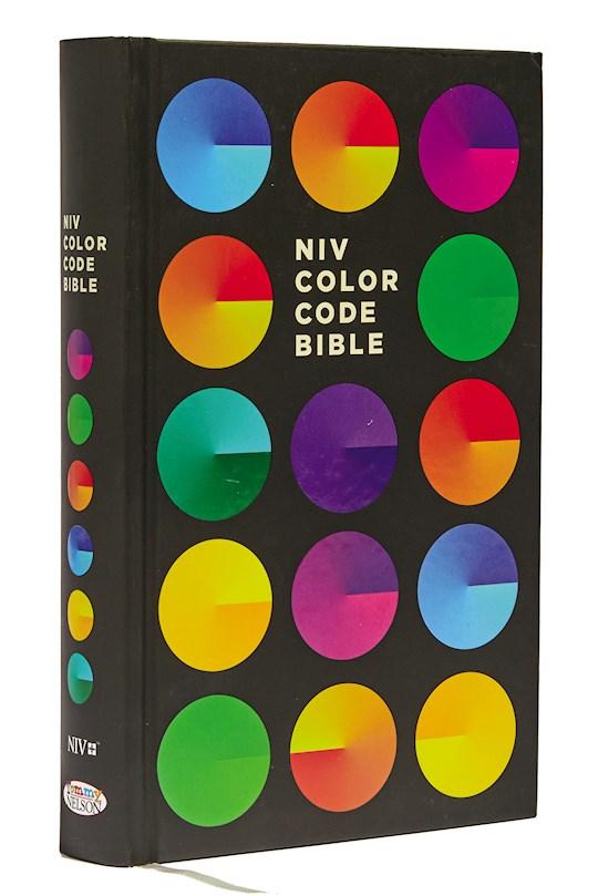 NIV Color Code Bible-Hardcover | SHOPtheWORD