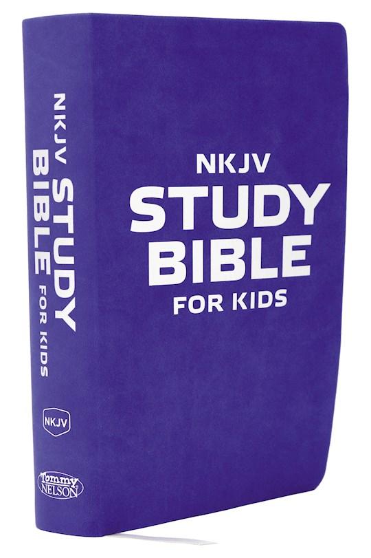 NKJV Study Bible For Kids-Flexicover   SHOPtheWORD