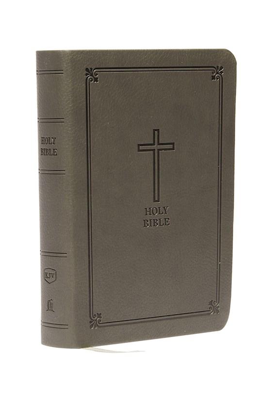 KJV Compact Large Print Reference Bible (Comfort Print)-Black Leathersoft | SHOPtheWORD