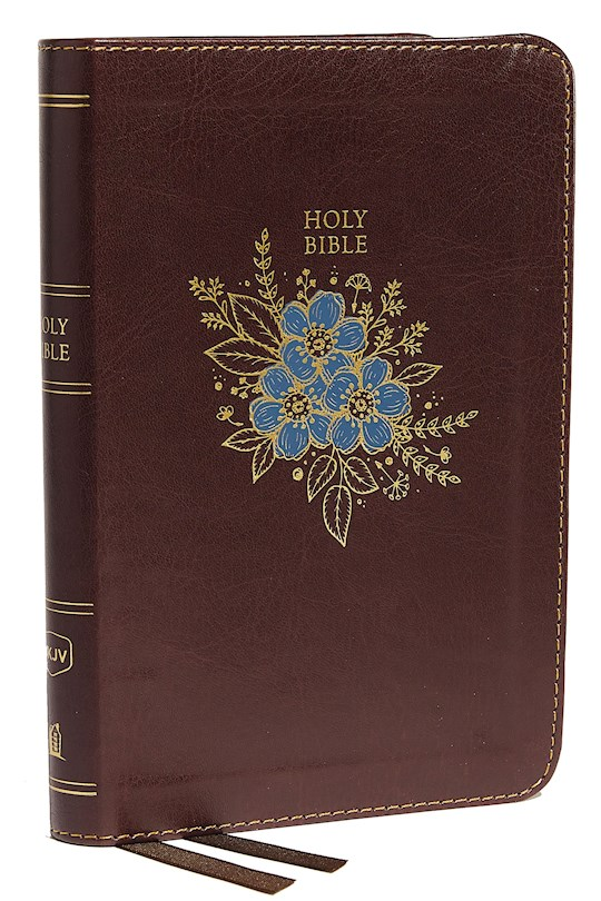 NKJV Thinline Bible/Compact (Comfort Print)-Burgundy Leathersoft | SHOPtheWORD