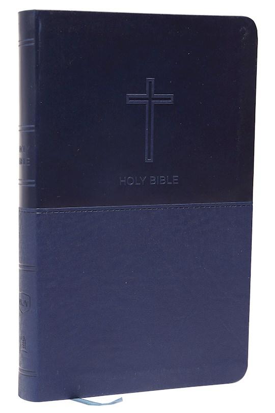 NKJV Thinline Bible (Comfort Print)-Navy Leathersoft | SHOPtheWORD
