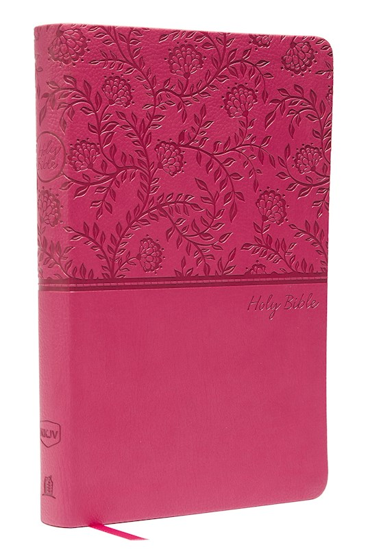 NKJV Thinline Bible (Comfort Print)-Pink Leathersoft   SHOPtheWORD