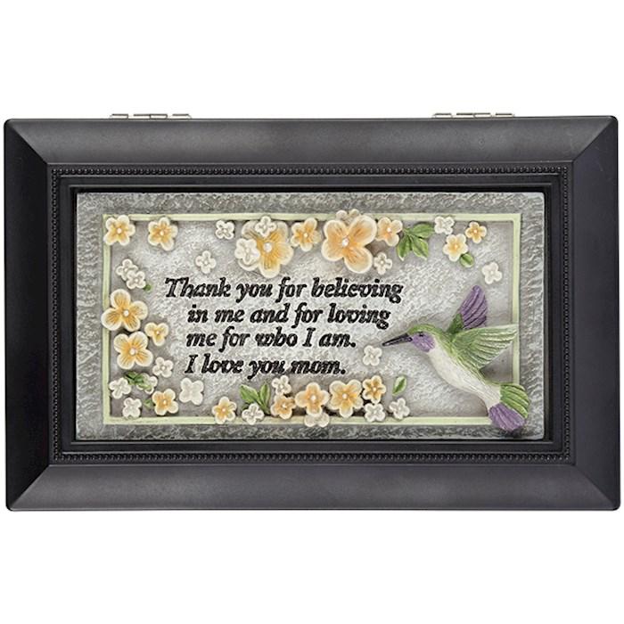 "Music Box-Love You Mom/Everything Is Beautiful (6"" x 4"") | SHOPtheWORD"