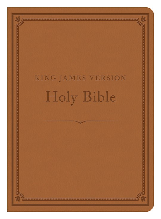 KJV Compact Gift & Award Bible: Reference Edition-Camel DiCarta | SHOPtheWORD