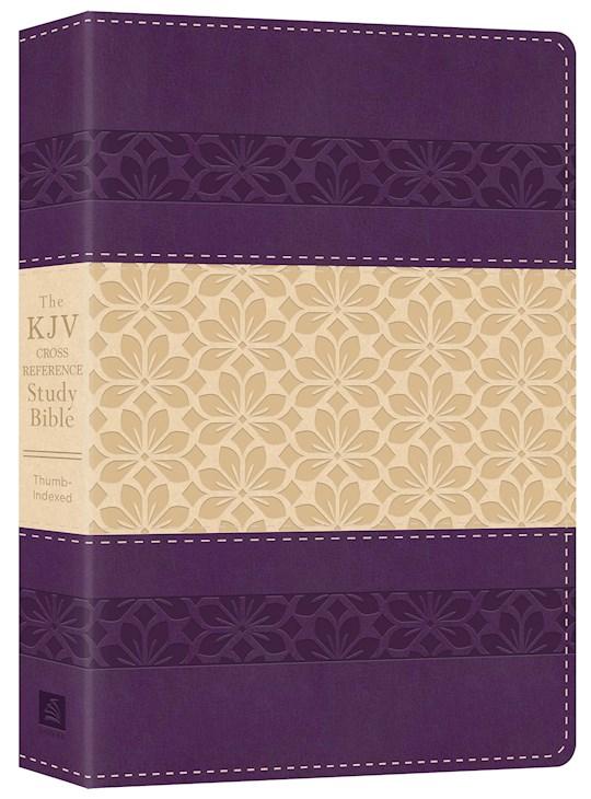 KJV Cross Reference Study Bible-Purple/Rose DiCarta Indexed   SHOPtheWORD
