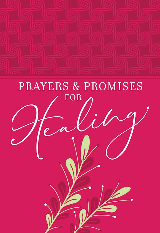 Prayers And Promises For Healing (Gift Edition)-Faux Leather by Joan Hunter   SHOPtheWORD