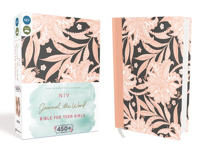 NIV Journal The Word Bible For Teen Girls-Floral Cloth Over Board | SHOPtheWORD