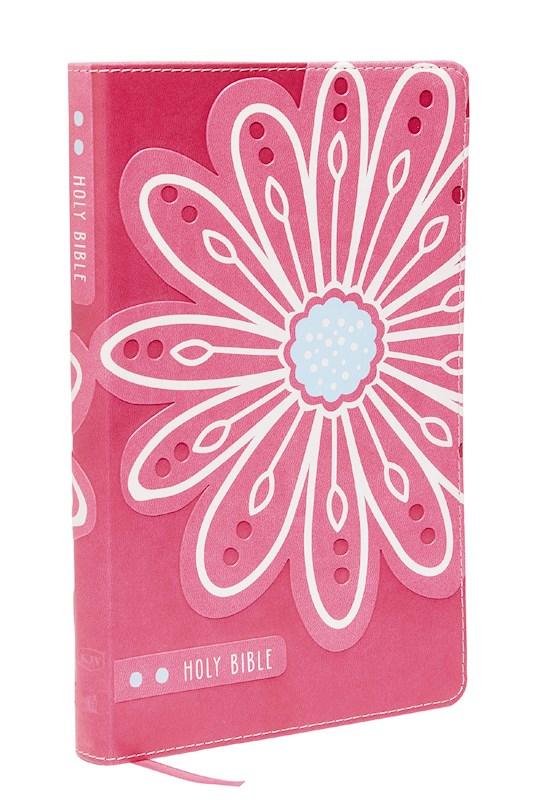 KJV Thinline Bible For Kids-Pink Leathersoft   SHOPtheWORD