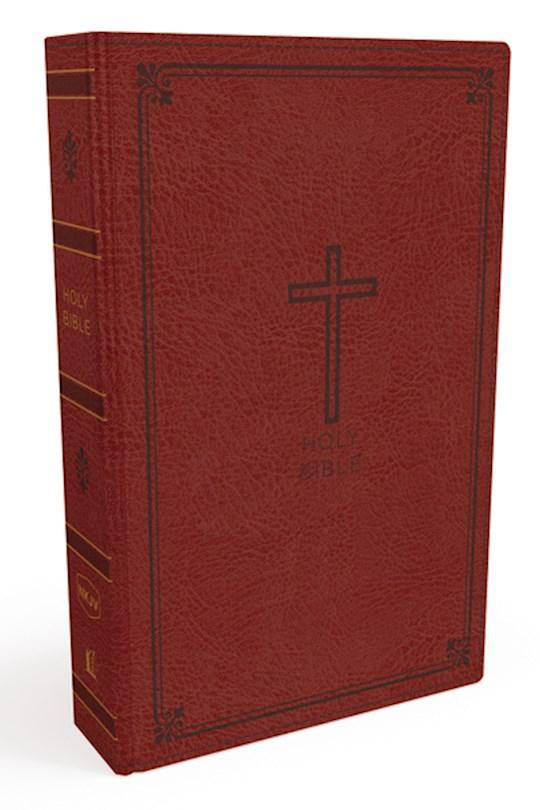 NKJV Thinline Bible (Comfort Print)-Crimson Leathersoft   SHOPtheWORD
