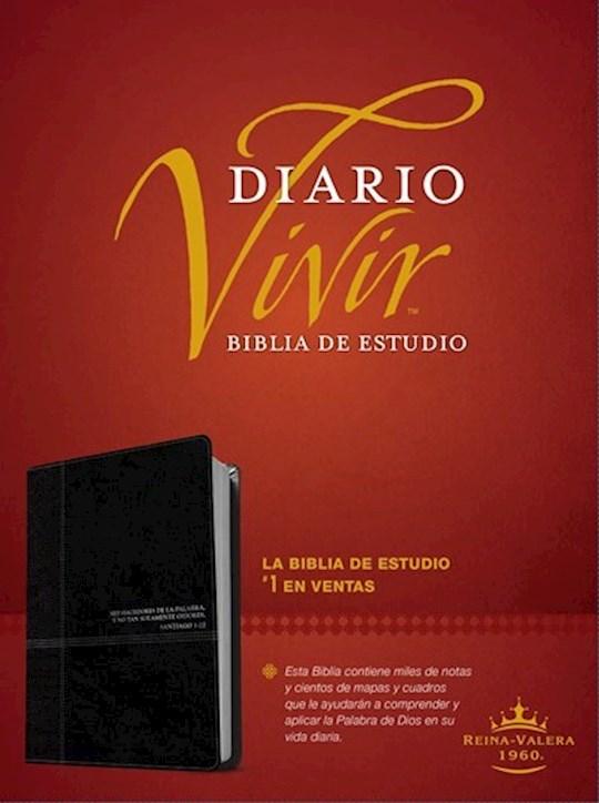 Span-RVR 1960 Life Application Study Bible (Biblia de Estudio del Diario Vivir)-Black LeatherLike  | SHOPtheWORD