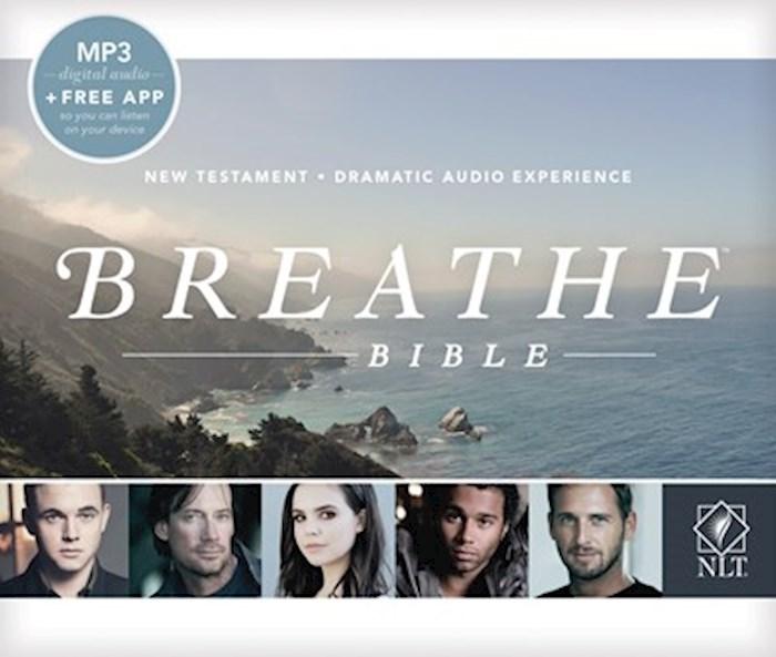 Audio CD-NLT Breathe Bible Audio New Testament (18 MP3 CD) | SHOPtheWORD