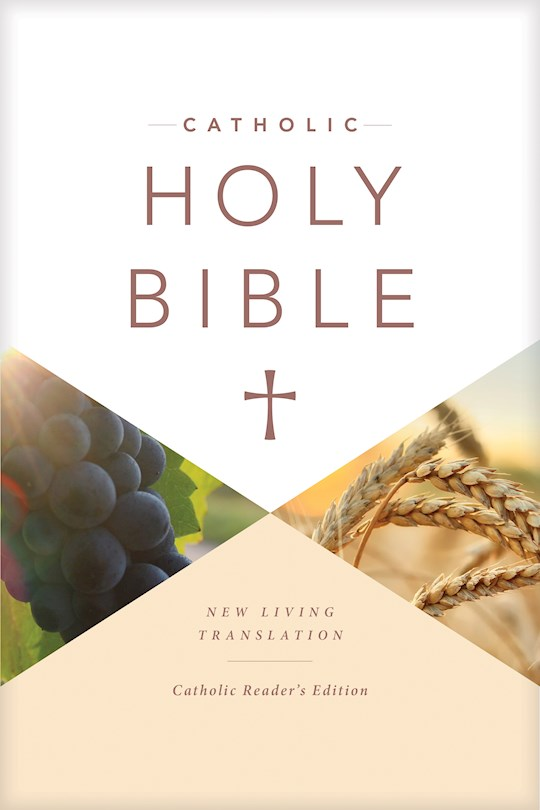 NLT Catholic Holy Bible-Reader's Edition-Hardcover | SHOPtheWORD