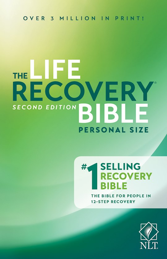 NLT Life Recovery Bible/Personal Size (25th Anniversary Edition)-Softcover | SHOPtheWORD