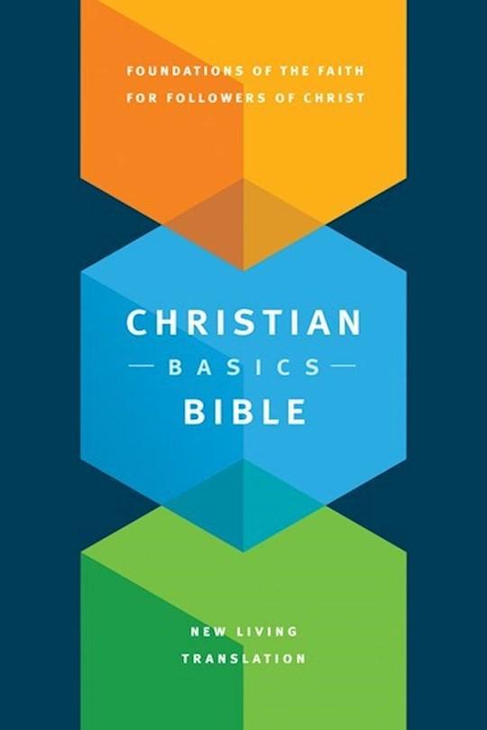 NLT Christian Basics Bible-Hardcover | SHOPtheWORD