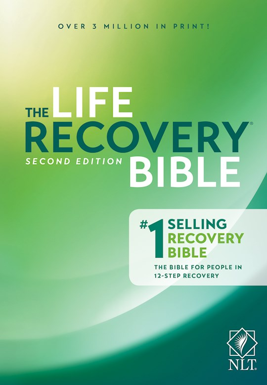 NLT Life Recovery Bible (25th Anniversary Edition)-Hardcover | SHOPtheWORD