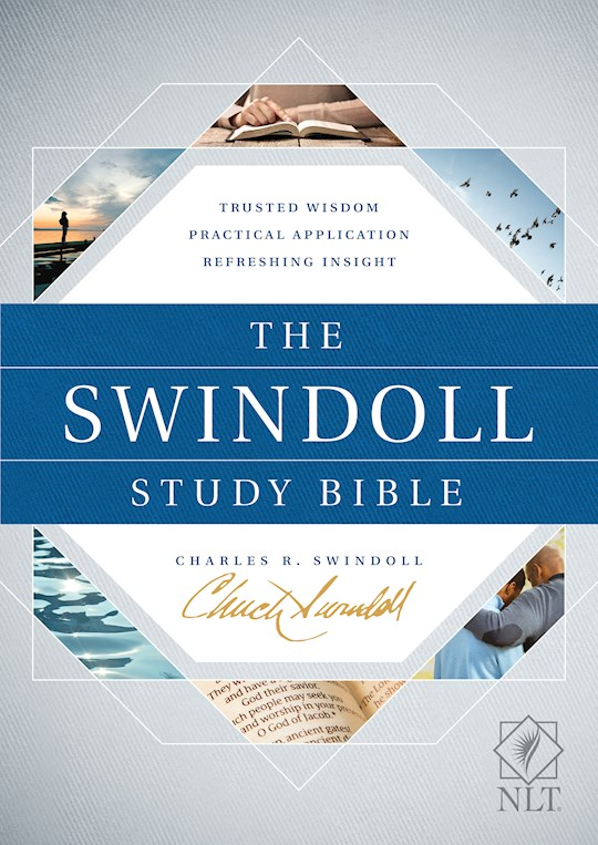 NLT Swindoll Study Bible-Hardcover | SHOPtheWORD