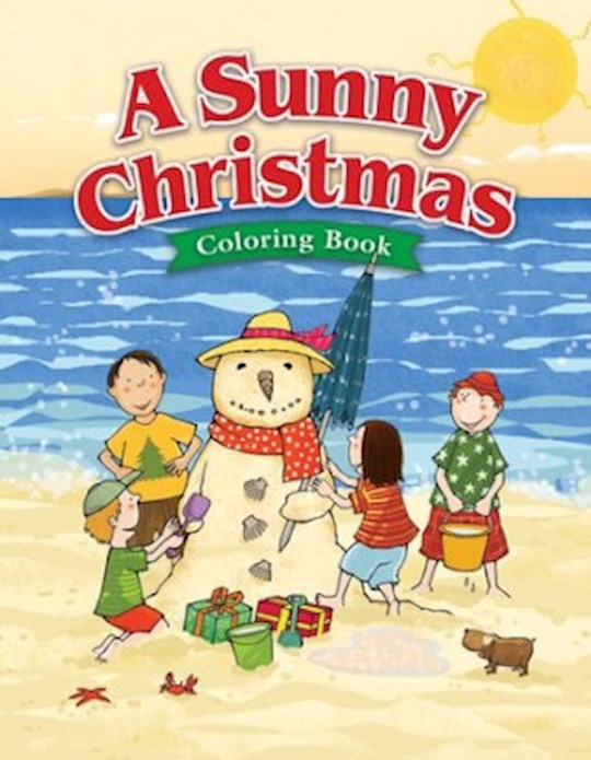 A Sunny Christmas Coloring Book (Ages 5-7) by Press Kids Warner | SHOPtheWORD