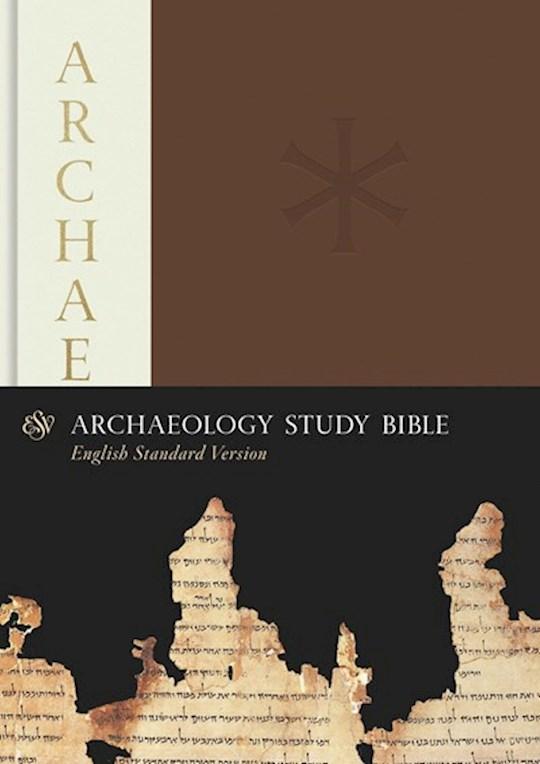 ESV Archaeology Study Bible-Hardcover   SHOPtheWORD