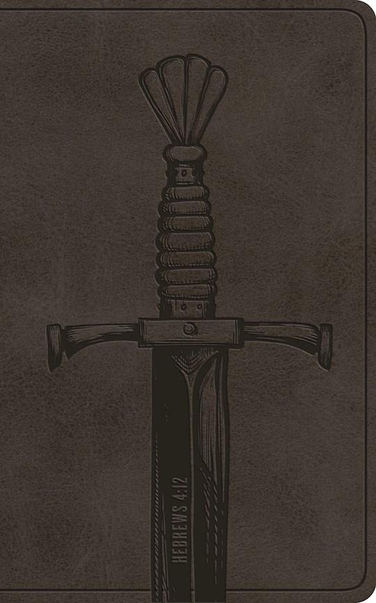 ESV Vest Pocket New Testament w/Psalms And Proverbs-Silver Sword TruTone  | SHOPtheWORD