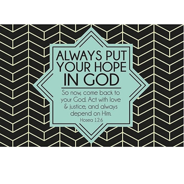 "Cards-Pass It On-Hope In God (3"" x 2"") (Pack Of 25) 
