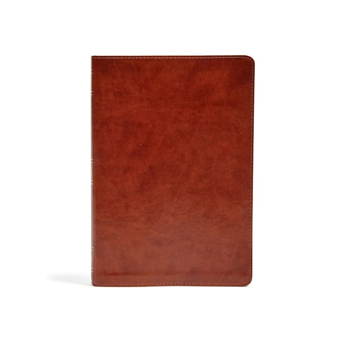 KJV Large Print Ultrathin Reference Bible-British Tan LeatherTouch Indexed | SHOPtheWORD