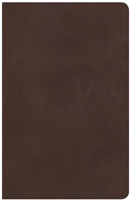NKJV Large Print Personal Size Reference Bible-Brown Genuine Leather Indexed  | SHOPtheWORD