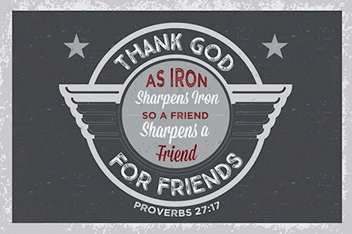 Poster-Small-Thank God For Friends (13.5 x 9) | SHOPtheWORD