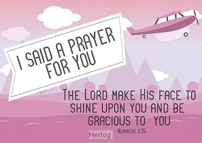 Postcard-A Prayer For You (6 x 4.25) (Pack Of 6) | SHOPtheWORD