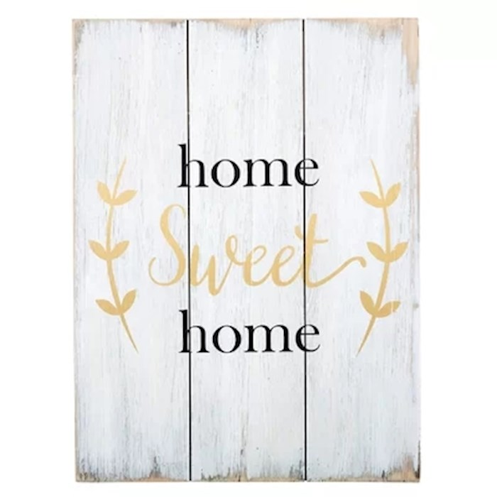 "Wood Pallet Sign-Home Sweet Home (11.75"" x 15.75"") 