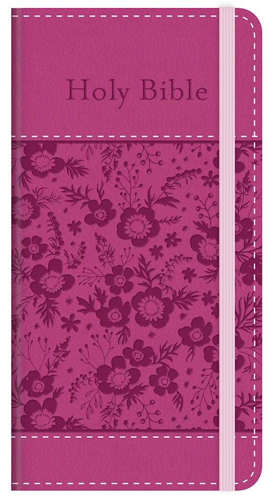 KJV Compact Bible: Promise Edition-Pink DiCarta  | SHOPtheWORD