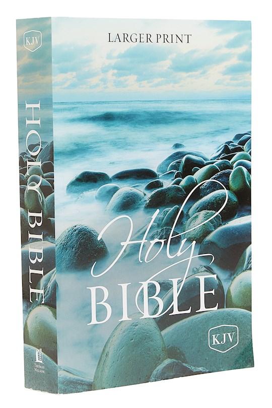 KJV Larger Print Holy Bible-Softcover | SHOPtheWORD