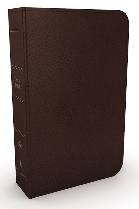 NKJV Minister's Bible (Comfort Print)-Brown Leathersoft  | SHOPtheWORD