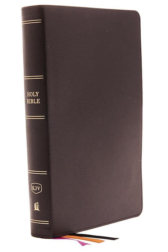 KJV Minister's Bible (Comfort Print)-Black Genuine Leather  | SHOPtheWORD