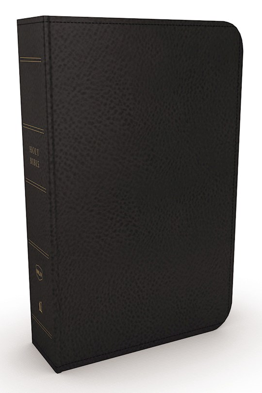 NKJV Minister's Bible (Comfort Print)-Black Genuine Leather | SHOPtheWORD