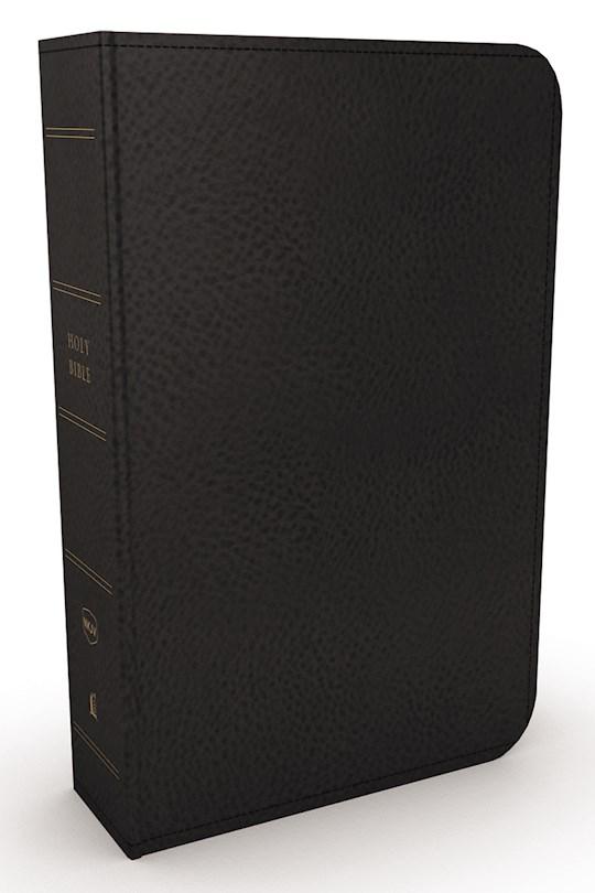 NKJV Minister's Bible (Comfort Print)-Black Leathersoft  | SHOPtheWORD